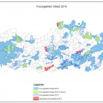 Overzicht van focusgebieden in Vlaanderen voor 2014