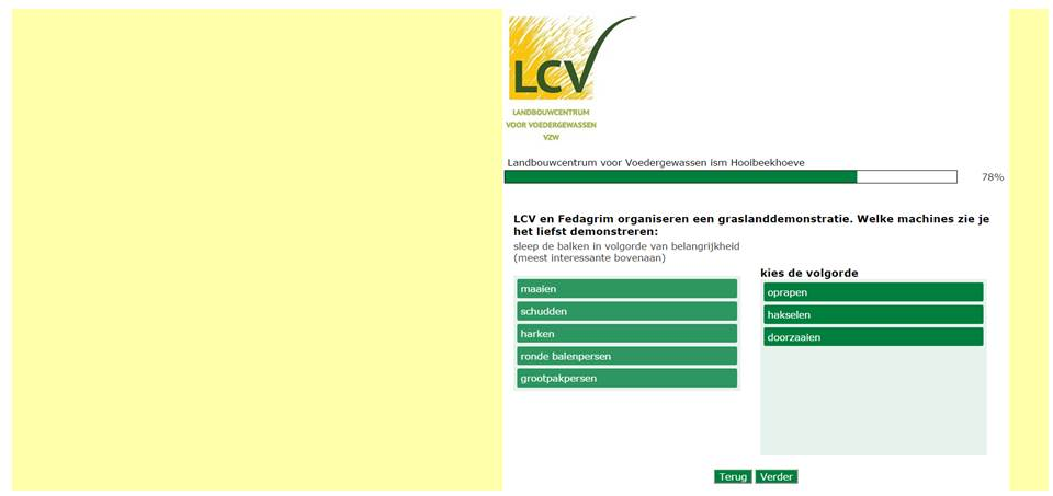 Bepaal mee de LCV werking en vul de winterenqûete in!