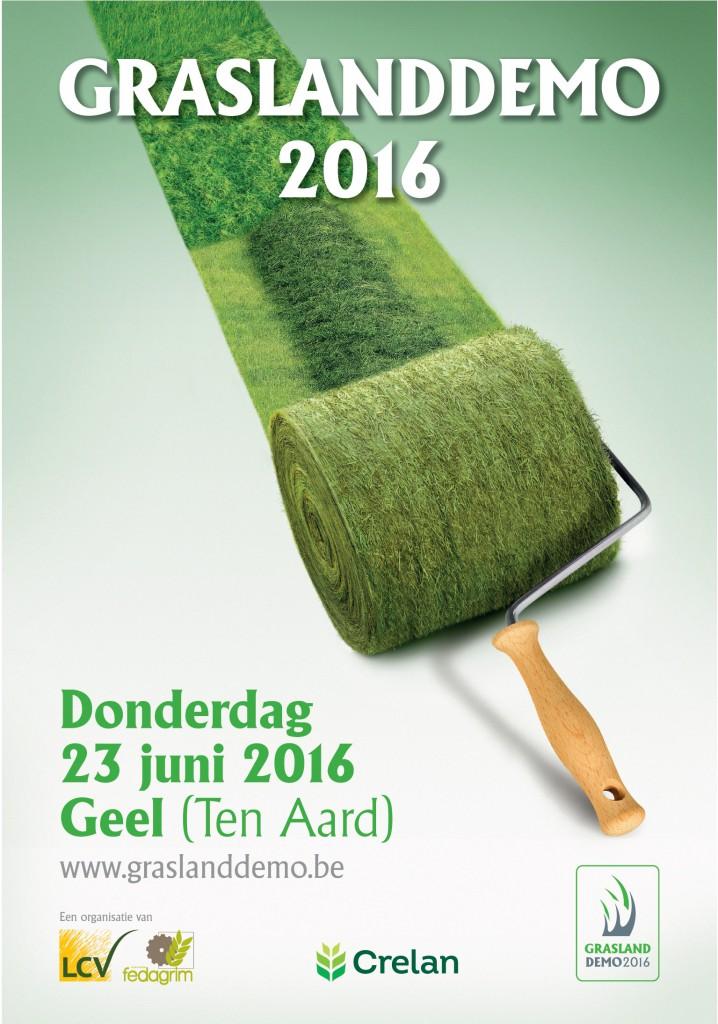 Graslanddemo 2016 : Noteer alvast 23 juni in uw agenda!